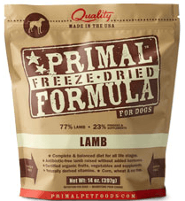 Primal Freeze Dried Lamb for Dogs