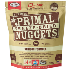 Primal Freeze Dried Venison for Cats