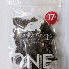 True Carnivores Rabbit Crisps
