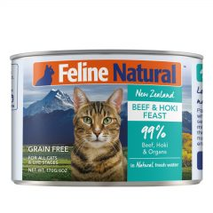 Feline Natural Beef and Hoki Canned Cat Cuisine