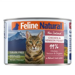 Feline Natural Chicken and Venison Canned Cat Cuisine