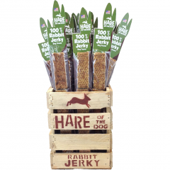Hare of the Dog Rabbit Jerky
