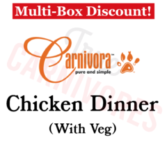 Carnivora chicken dinner