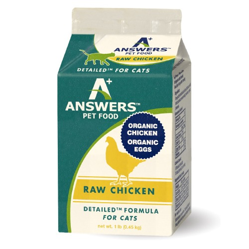 Answers Pastured Organic Chicken for Cats